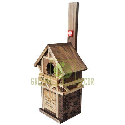 "Скворечник-декор  для птиц ""Швейцария"""