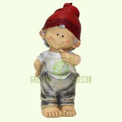 Купить  Фигурка Мальчик интересный 25 см  в интернет-магазине Green Decor.