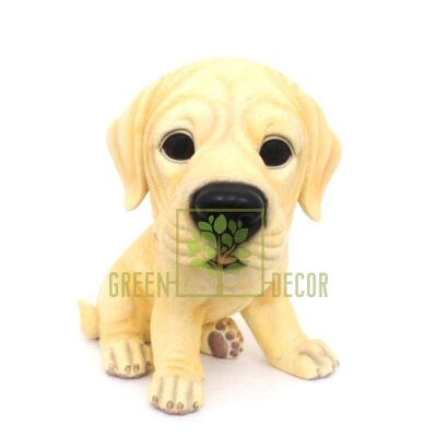 Купить  Фигурка Лабрадор золотистый, 20 см  в интернет-магазине Green Decor.