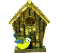 Скворечник  Птичий домик с синичкой