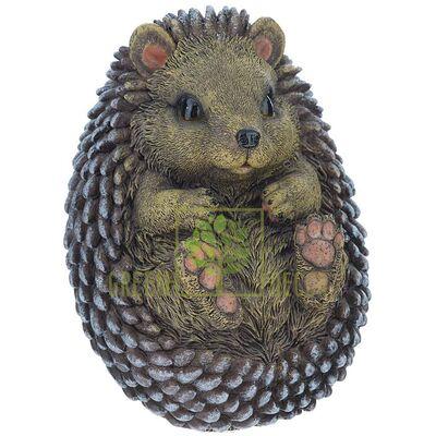 Купить  Фигурка Ежик на спине 15,5 см  в интернет-магазине Green Decor.