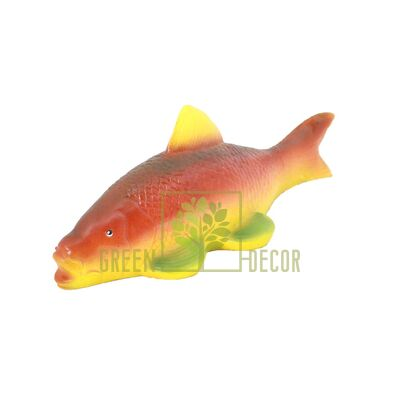 Фигурка для пруда Рыбка красная