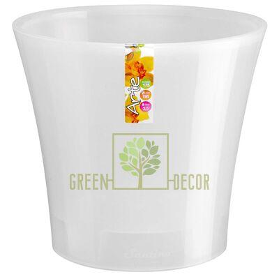 Горшок для цветов АРТЕ 3,5 л прозрачный-прозрачный