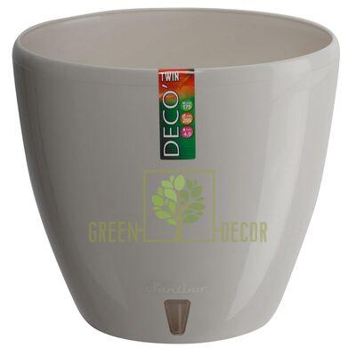 Горшок для цветов DECO-TWIN 2,5 л песочный