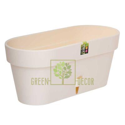 Купить  Вазон LATINA WINDOWS BOX 6,7 л. крем  в интернет-магазине Green Decor.
