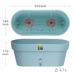 Умный вазон для цветов LATINA WINDOWS BOX 6,7 л. песочный