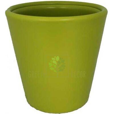 Купить  Горшок ВУЛКАНО XL 24л фисташка  в интернет-магазине Green Decor.