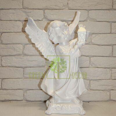 Купить  Статуэтка Ангел с фонарем  в интернет-магазине Green Decor.