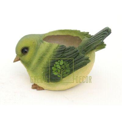 Купить  Птичка зеленая  в интернет-магазине Green Decor.