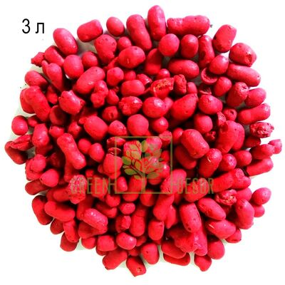 Цветной керамзит mini 3 л  красный