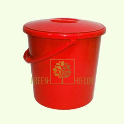 Купить  Ведро пластиковое 8,5 л  в интернет-магазине Green Decor.