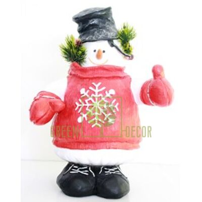 Купить  Снеговик с ведром  в интернет-магазине Green Decor.