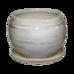 Купить  Горшок Premium ШАР Белый с чёрным  в интернет-магазине Green Decor. Фото 1