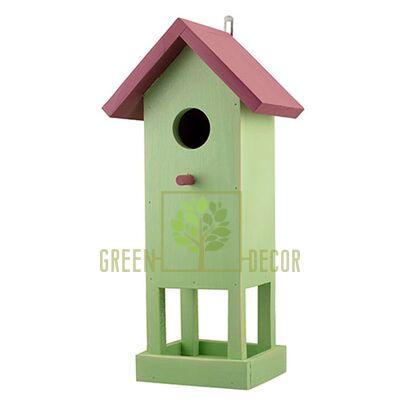 Скворечник-декор  для птиц Башня D9070-1