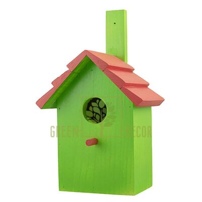 Скворечник-декор  для птиц Черепица D9072-1