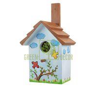 Скворечник для птиц Черепица-2 D9072-2