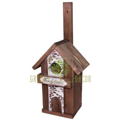 Скворечник-декор  для птиц Семейный Дом