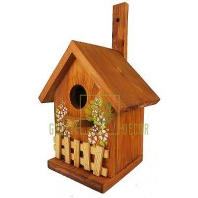 Скворечник-декор  для птиц  Деревня