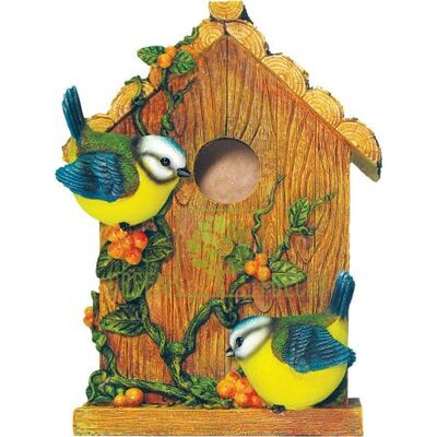 Скворечник  Птичий домик с синичками