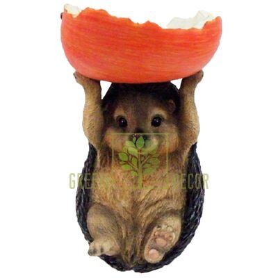 Кормушка Ежик с яблоком