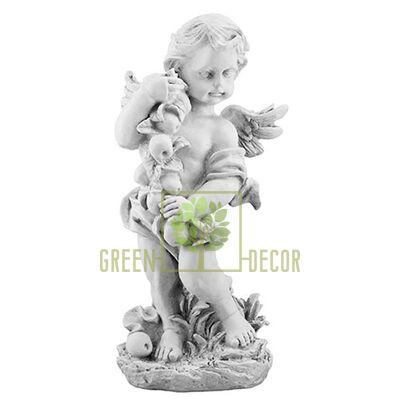 Фігурка для саду Ангел з яблуками