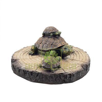 Водоплаваюча фігурка Черепахи на деревині