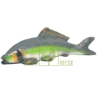 Фигурка для пруда Рыбка зеленая
