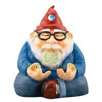 Садовая фигура Гном в медитации