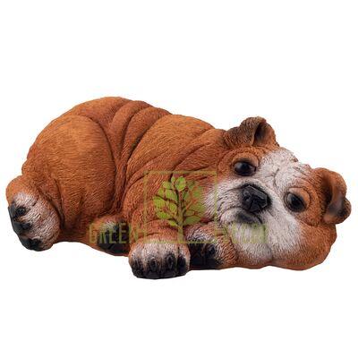 Садовая фигура Собака Бульдог