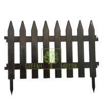 Заборчик садовый коричневый 46*36 см