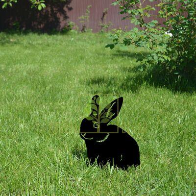 Садовый декор из металла Кролик