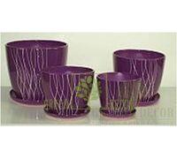 Горшок Premium Венус Фиолетовое пламя