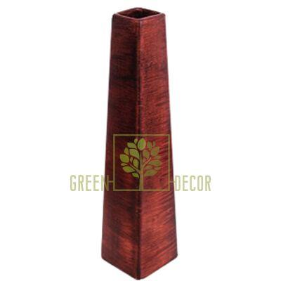 Вази для квітів Ваза ПІРАМІДА Дерево від Ekoceramika |Green Decor