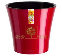 Горшок для цветов АРТЕ 3,5 л красный-черный