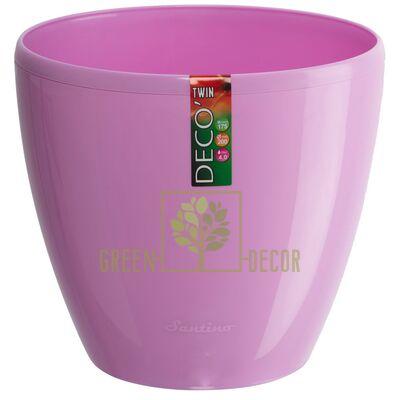 Горшок для цветов DECO-TWIN 2,5 л лаванда