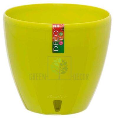 Горшок для цветов DECO-TWIN 4 л лайм