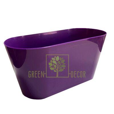 Горшок для цветов ВУЛКАНО-МУЛЬТИВАЗОН 3,1 л фиолетовый