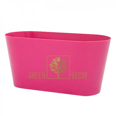 Горшок для цветов ВУЛКАНО-МУЛЬТИВАЗОН 3,1 л пурпурный