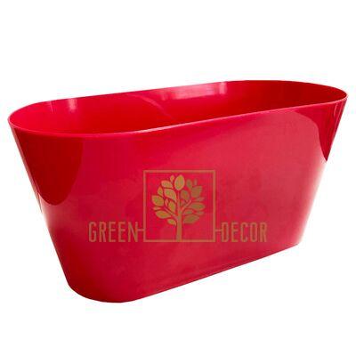 Горшок для цветов ВУЛКАНО-МУЛЬТИВАЗОН 3,1 л красный