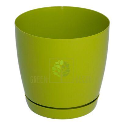 Горшок для цветов Тоскана круглая-11 0,8 л фисташка