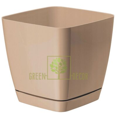 Горшок для цветов Тоскана Квадро-15 2,5 л латте