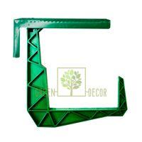 Балконний гак зелений
