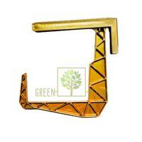 Балконный крюк золотой