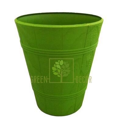 """Горшок для цветов """"Дерево ПАЛЬМА-4"""" зеленый 20 л"""