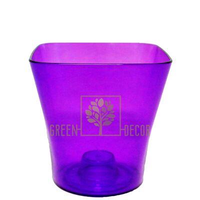 Орхидейница квадратная-13 фиолетовая 1,25 л