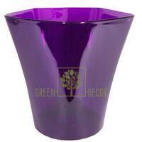 Горщик для орхідей ПЕНТА-17 фіолетовий 3 л