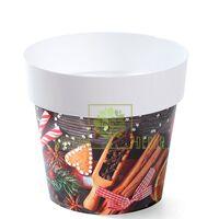 Горшок IML-14 с принтом Новогоднее печенье