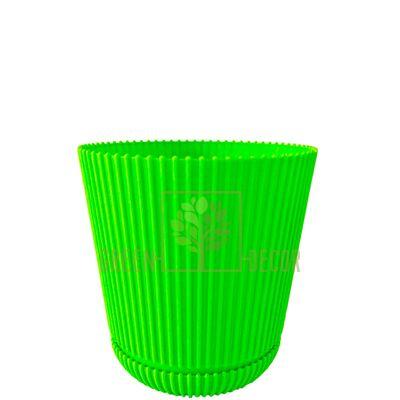 Горщик для квітів Геліос-11 фісташковий 0,75 л