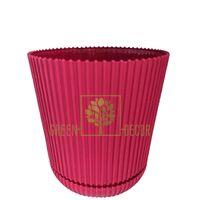 Горшок для цветов Гелиос-11 бордовый 0,75 л
