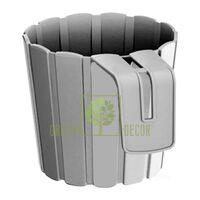 Горшок Boardee-15 для поручней 1,4 л серый